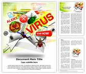 Email Virus Template