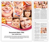 Healthy Teeth Collage Template