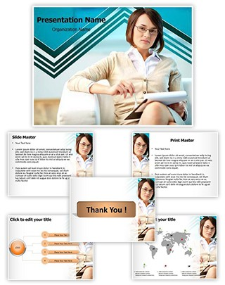 Conciliator Editable PowerPoint Template