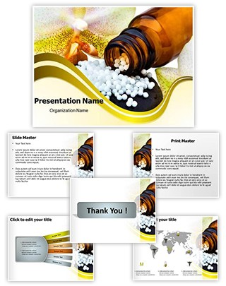 Homeopathy Editable PowerPoint Template
