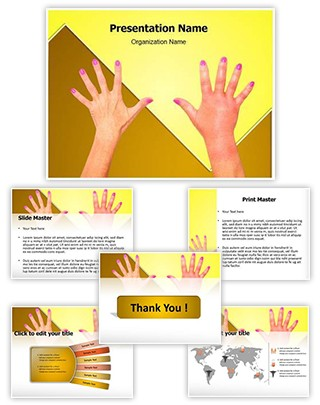 Sepsis Swelling Editable PowerPoint Template