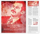 Saddam Hussain Template