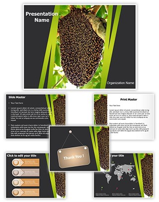 Beehive Editable PowerPoint Template