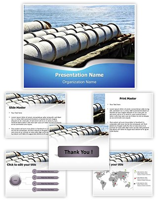 Sewage System Editable PowerPoint Template
