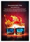 Burning Alcohol