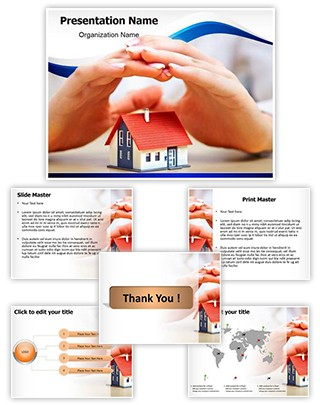 Home Insurance Editable PowerPoint Template