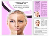 Ageing Beauty Editable Word Template