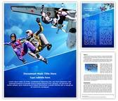 Skydiving Editable Word Template