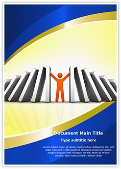 Conflict Management Editable Word Template