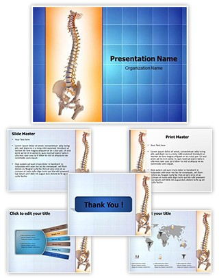 Human Spinal Editable PowerPoint Template