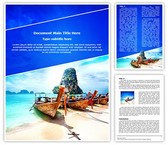 Exotic Tourism Editable Word Template
