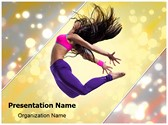 Jazz Dance Editable PowerPoint Template