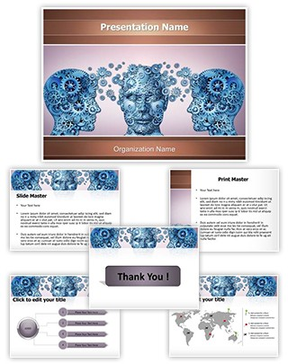 Sharing Knowledge Editable PowerPoint Template