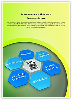 Rfid Tag Editable Word Template