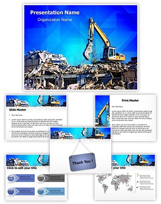 Demolition Editable PowerPoint Template