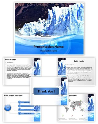 Iceberg Editable PowerPoint Template