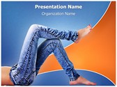 Denim Jeans PowerPoint Templates