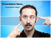 Eye Strabismus Problem Editable PowerPoint Template