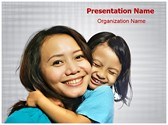 Mother Daughter PowerPoint Templates