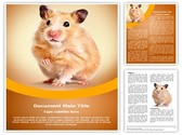 Hamster Editable Word Template