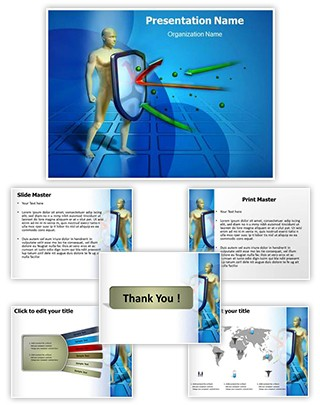 Immune System Editable PowerPoint Template