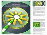 Homeopathic Pills Concept Template