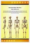 Human Skeleton Word Templates