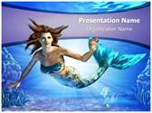Mermaid Editable PowerPoint Template