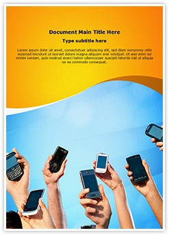 Mobile Computing Editable Word Template