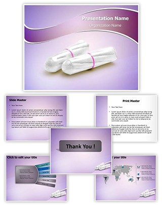 Tampons Editable PowerPoint Template