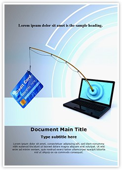 Online Phishing Editable Word Template