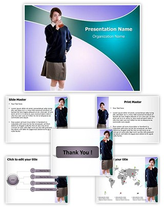 Underage Drinking Editable PowerPoint Template