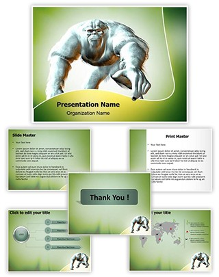 Yeti Editable PowerPoint Template