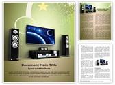 Plasma Home Cinema Editable Word Template
