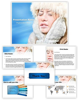 Hypothermia Problem Editable PowerPoint Template