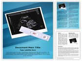 Pregnancy Test Positive Template