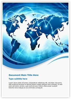 World Information Editable Word Template