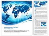 World Information Editable Word Template