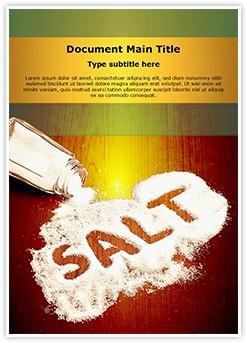 Salt Editable Word Template