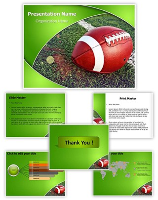 Football Rugby Editable PowerPoint Template