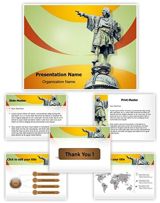 Christopher Columbus Editable PowerPoint Template