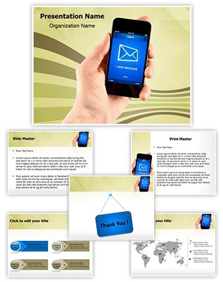 SMS Editable PowerPoint Template