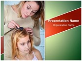 Head Lice Treating PowerPoint Templates