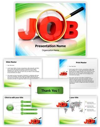 Jobs Word Editable PowerPoint Template
