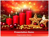 Advent Editable PowerPoint Template