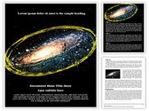 Space Editable Word Template