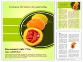 Sweet Gourd Editable Word Template