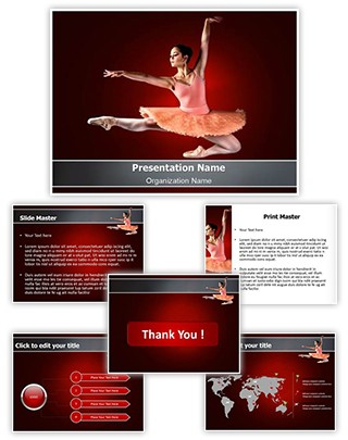 Ballerina Editable PowerPoint Template