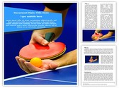 Table Tennis Service Template