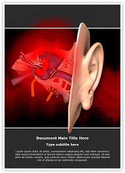 Acute Otitis Editable Word Template
